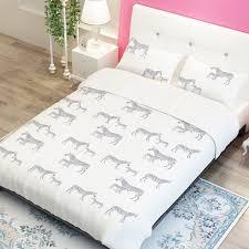 horse print duvet cover sweetgalas