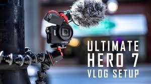Gopro Hero 7 black vlog setup
