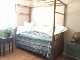 Bamboo Canopy Bed - Solitude Daybed by Padma's Plantation - Luxury Handmade Indonesian Furniture Makers - Out of Stock everywhere - Originally $3925 ...