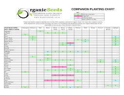Companion Planting Chart Fruit Tree Companion Planting Chart Templates At