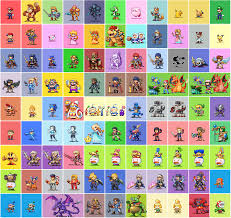 Everyone Pixelized Super Smash Bros Super Mario Bros