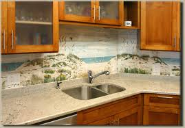 tumbled stone tile murals for kitchen backsplash decorative tile inserts