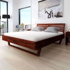 super modern furniture. Image Is Loading VidaXL-Bed-Frame-Modern-Furniture-Acacia-Wood-Brown- Super Modern Furniture E