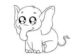 Small Picture zebra coloring pages elephant free printable wild animals coloring