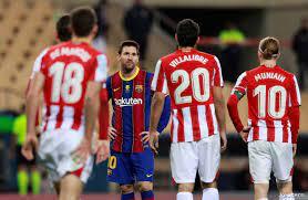 انتهاء عقد ميسي مع برشلونة