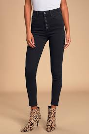 Hidden Jeans Size Chart Taylor Black High Waisted Skinny Jeans
