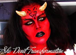 she devil makeup photo 1