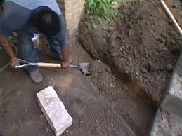 how to build a short retaining wall