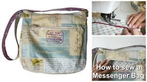 Messenger Bag Pattern New How To Sew A Messenger Bag Frocks Frolics 'Grab THAT Bag
