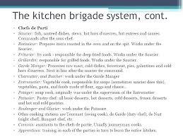 Kitchen Organization Chart Modern Brigade System Island With