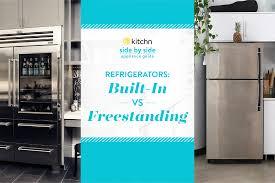 Huge Refrigerator Should You Get A Built In Fridge Kitchn