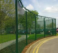 Decorative Security Fencing 358 Security Fence Is A Welded Mesh Panel Fence That Is A High