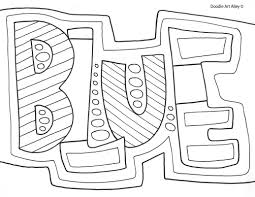 Math Journal Coloring Page With Colors Pages Classroom Doodles