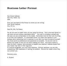 Business Letters Examples Template Beauteous Business Letter Format Sample Template