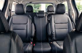 rear seats in 2018 toyota sienna