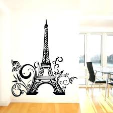 eiffel tower wall art tower wall art metal decor lovely sticker removable decal poster eiffel tower wall art canvas