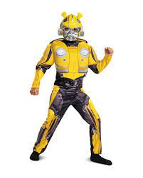 Transformers Bumblebee Children Costume for Halloween