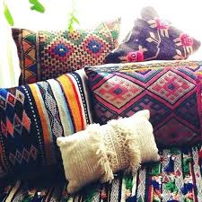 moroccan throw pillows. Moroccan Throw Pillows Fabric Red Cushions Inspired .