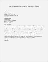 Cover Letter For Medical Sales Representative With No Experience