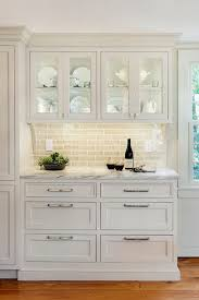 white cabinet furniture. Such A Cute Idea Log Cabin Kitchen White Cabinetry, Marble Countertops, Backsplash, Glass Cabinets Windows With Black . Cabinet Furniture