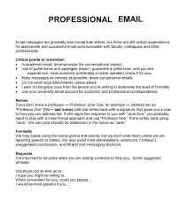 Email Writing Template Professional Download Of Get Examples