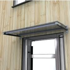 toughened glass door canopy with powdercoated steel supports wood canopy over front door front door ideas front door design