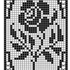 6 Free Crochet Charts For Filet And Tapestry Crochet