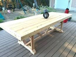 outdoor dining long table diy nashidetiinfo large outdoor dining furniture large outdoor dining table plans