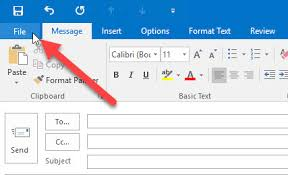 outlook mail templates how to creating email templates in outlook 2016 windowsinstructed