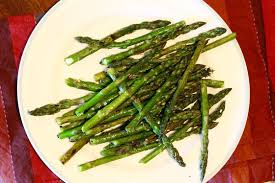 looking for grilled vegetable recipes this grilled asparagus with lemongr garlic rub is healthy and