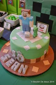 Birthday Cakes Ideas The 12 Most Amazing Minecraft Cakes Catch My