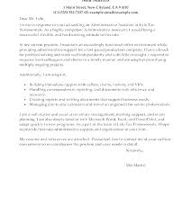 Recommendation Letter For Office Assistant Cover Letters For Executive Assistant Position Cover Letter For An