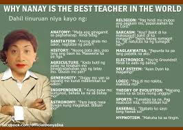 Why Nanay Is The Best Teacher Kowtsoverload