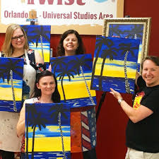 photo of painting with a twist orlando fl united states