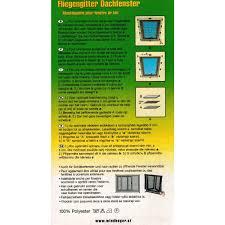 Fliegengitter Für Dachfenster 90x150cm Schutz Netz Insektenschutz Windhager