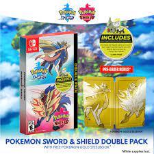 Pokemon Images: Pokemon Sword And Shield Gold Steelbook Edition