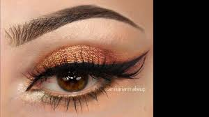 arabic eye makeup tutorial video 2018 how to do arabic makeup مكياج عروس خليجي