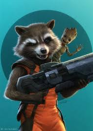 Rocket And Baby Groot Marvel Mania Guardians Of The Galaxy Baby