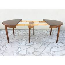 vintage round scandinavian dining table 1960s