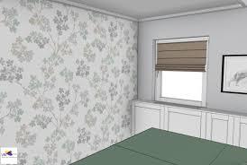 Slaapkamer In 3d Ontwerp Monique Van Koppenhagen Kleuren