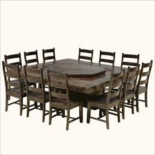 8 person square outdoor dining table 12 round collapsible and chairs