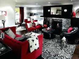 Purple And Black Living Room Ideas Purple Black Living Room Photo 2 Of 5  Black White