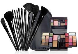 e l f studio makeup artist brush and palette set
