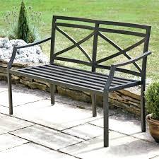 Powder Coated Steel Garden Benches Garden Metal Bench