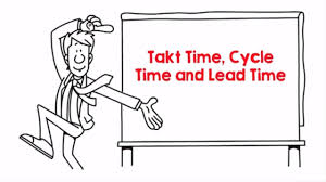Takt Time Cycle Time And Lead Time