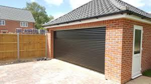 rd77 diy double electric remote control roller garage door