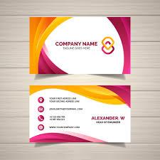Beautiful Design A Professional Business Card Free