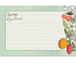 Where To Buy Recipe Cards In Stores Cr Gibson Fruit Fusion Recipe Cards 4x6