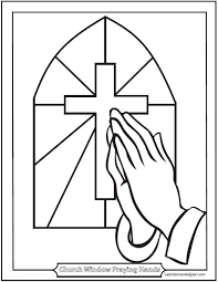 Free Printable Coloring Sheets For Preschoolers Religious Symbols