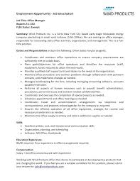 Resume For Office Manager Position Office Manager Skills Resume Skills For Customer Service Resume